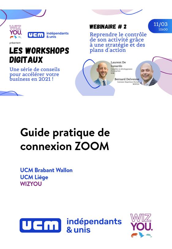Confirmation Webinaire et lien pour accéder au guide d'accès ZOOM